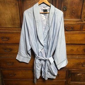 Celine Homme short robe smoking jacket